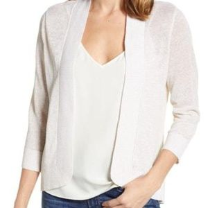 TOMMY BAHAMA Lea Shimmer Open Front Cardigan /A8